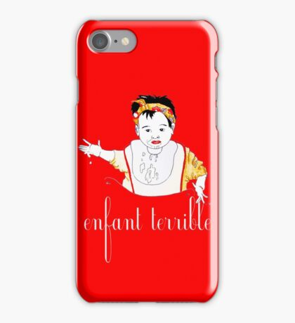 Enfant terrible iPhone Case/Skin