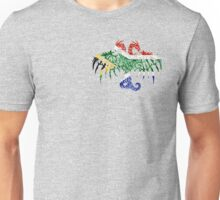 SOUTH AFRICA 2 HEADED DRAGON FLAG Unisex T-Shirt