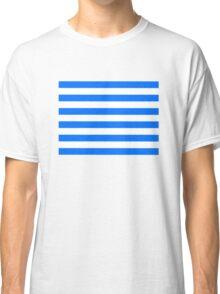 Hand drawn sailor stripes, seamless pattern Classic T-Shirt