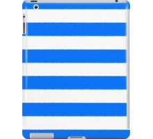 Hand drawn sailor stripes, seamless pattern iPad Case/Skin