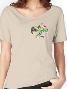 SOUTH AFRICA DRAGON FLAG Women's Relaxed Fit T-Shirt
