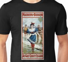Performing Arts Posters Mathews Bulger in the polite comic play At gay Coney Island by Levin C Tees 2781 Unisex T-Shirt