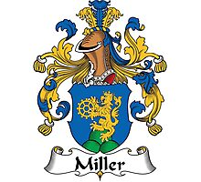 Miller Coat of Arms (German) Photographic Print