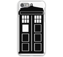English Police Call Box iPhone Case/Skin