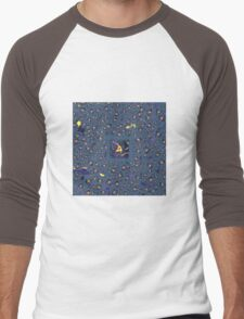 Abstract 0014c Men's Baseball ¾ T-Shirt