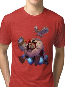 Cluck Clunk - Awesomenauts Tri-blend T-Shirt