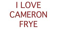 I love Cameron Frye by vrisca