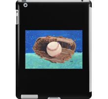 Baseball & Glove painting iPad Case/Skin