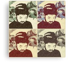 Nujabes Color (Split) Canvas Print