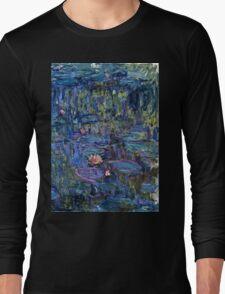 Claude Monet - Nympheas (1914 - 1917)  Long Sleeve T-Shirt
