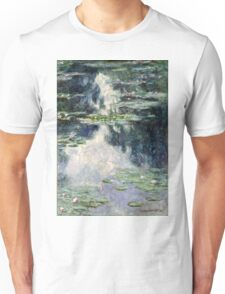 Claude Monet - Pond with Water Lilies (1907)  Unisex T-Shirt