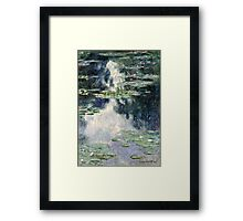 Claude Monet - Pond with Water Lilies (1907)  Framed Print