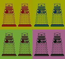 Daleks Photographic Print