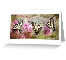 Spirit Of The Swallow Tail Greeting Card