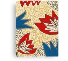 Printed Pattern Canvas Print