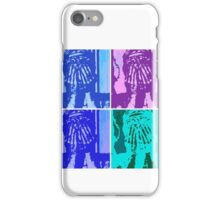 Warhol Inspired Angel Statue Cosplay  iPhone Case/Skin