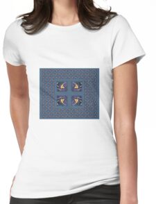 Abstract 0014d Womens Fitted T-Shirt