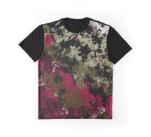 Faint Splash of Leaves Graphic T-Shirt