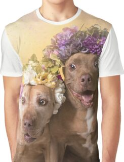 Flower Power, Indie and Choco Graphic T-Shirt