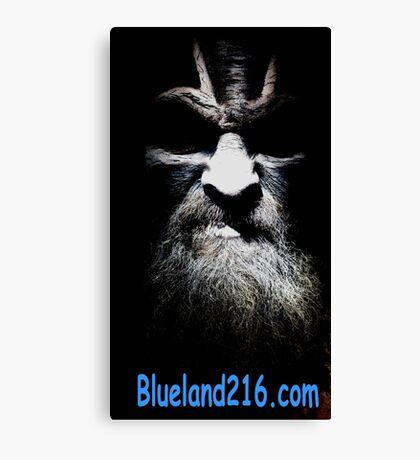 Blueland216 advertisements Canvas Print