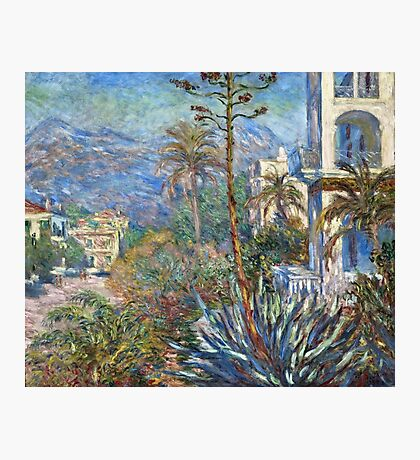 Claude Monet - Villas at Bordighera (1884)  Photographic Print