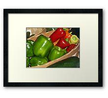 Goodness by the Basket Framed Print
