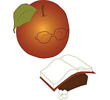 Apples are the fruit of Knowledge Photographic Print