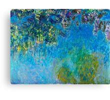 Claude Monet - Wisteria (circa 1925)  Canvas Print