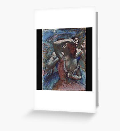 Edgar Degas - Dancers Greeting Card