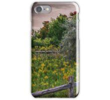 Butterfly Meadow iPhone Case/Skin