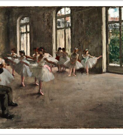 Edgar Degas - The Rehearsal ( 1873 - 1878)  Sticker