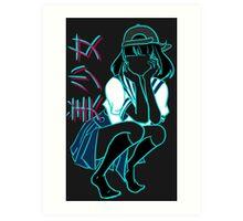 Girl+ [without bandaid] Art Print