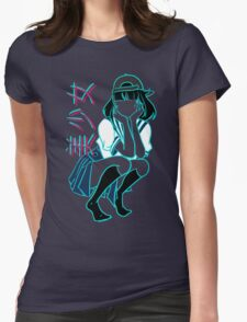 Girl+ [without bandaid] Womens Fitted T-Shirt