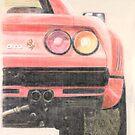 Ferrari 288 GTO by Peter Brandt