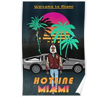 Hotline Miami poster Poster