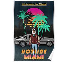 Hotline Miami poster Poster