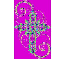 MYSTIC ERA CROSS GRAFFITI  Photographic Print