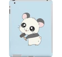 Panda Hamtaro iPad Case/Skin