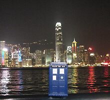 TARDIS in Hong Kong by bplavin