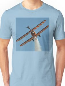 Steerman Wing-walker, Avalon Airshow, Australia 2013 Unisex T-Shirt
