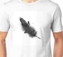 Raven - Feather Unisex T-Shirt