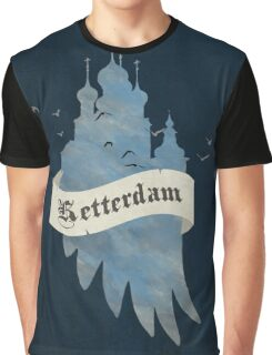 Ketterdam from Six of Crows Graphic T-Shirt