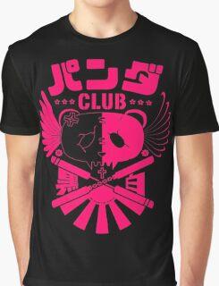 Panda Club Logo Design (Pink) Graphic T-Shirt