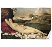 Giorgione - Sleeping Venus Poster