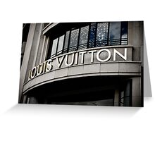 Heaven is a brand called Louis Vuitton Greeting Card