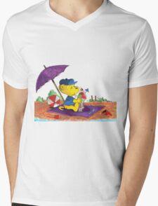 Ferald's Ice-Cream Beach Delight. Mens V-Neck T-Shirt