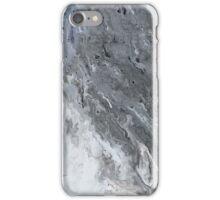 dark gray marble iPhone Case/Skin