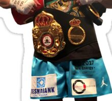 GGG Gennady Golovkin Boxing Belts (T-shirt, Phone Case & more) Sticker
