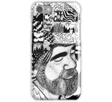 Bob Ross Becomes His Art iPhone Case/Skin