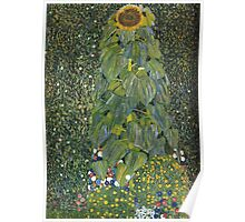 Gustav Klimt - The Sunflower 1907 Poster